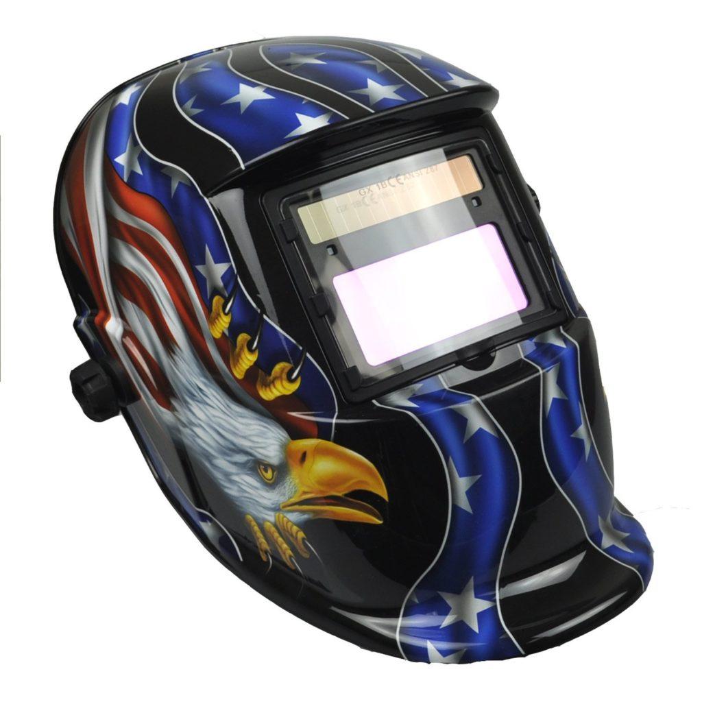 Instapark ADF Series GX-350S Solar Powered Auto Darkening Welding Helmet