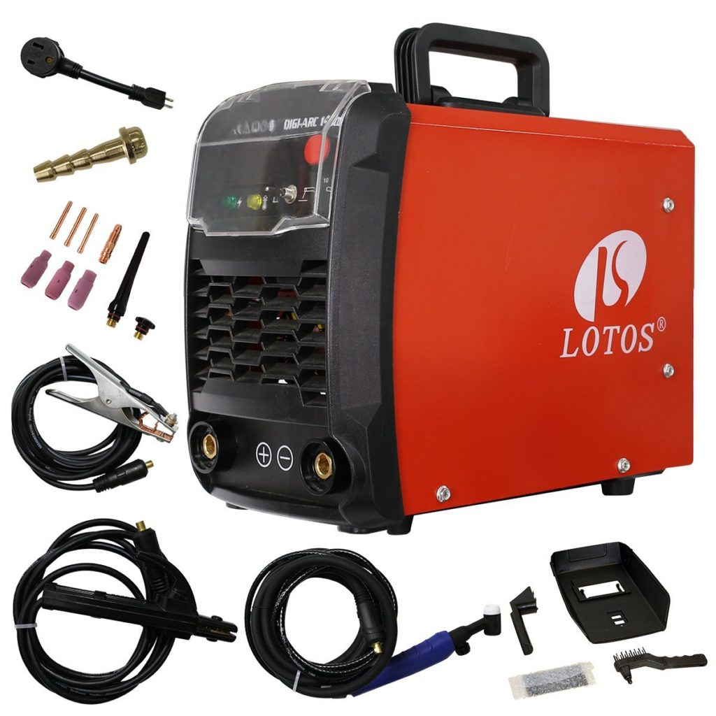 Lift Start DC TIG welder lotos technology