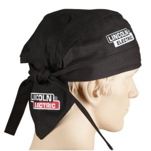Lincoln Electric Black One Size Flame-Resistant Welding Doo Rag