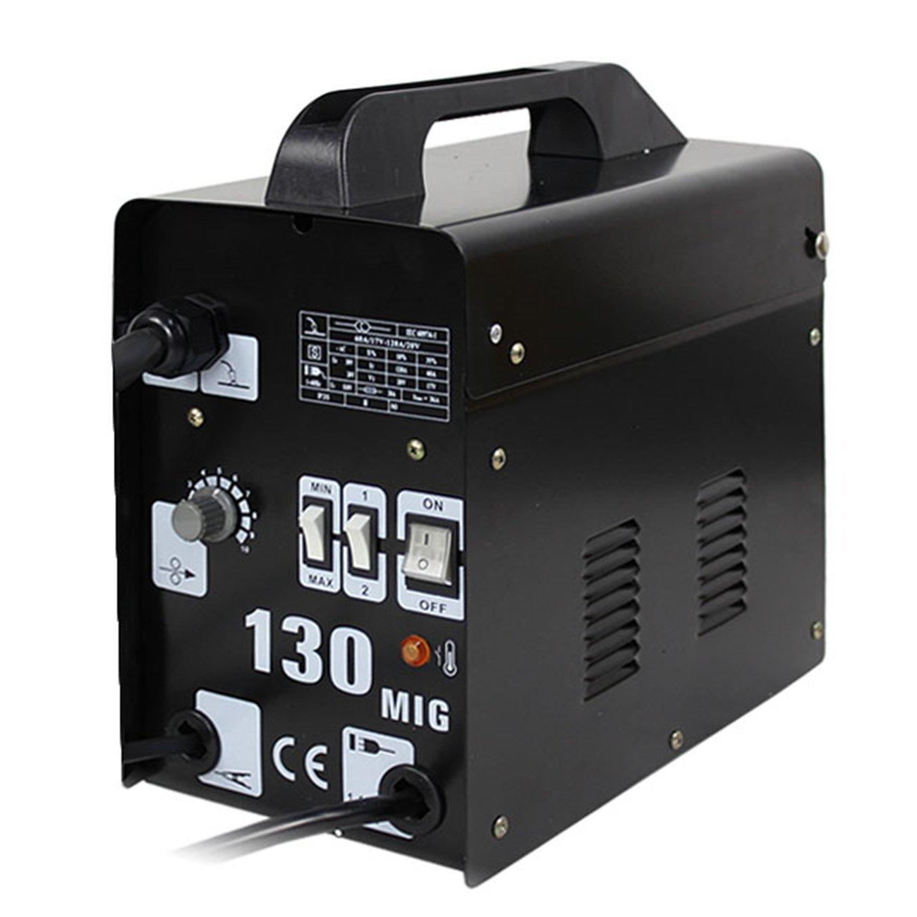 Segawe Auto Feeder Mig 130 Gas-less Flux Core Wire Welder Welding ...