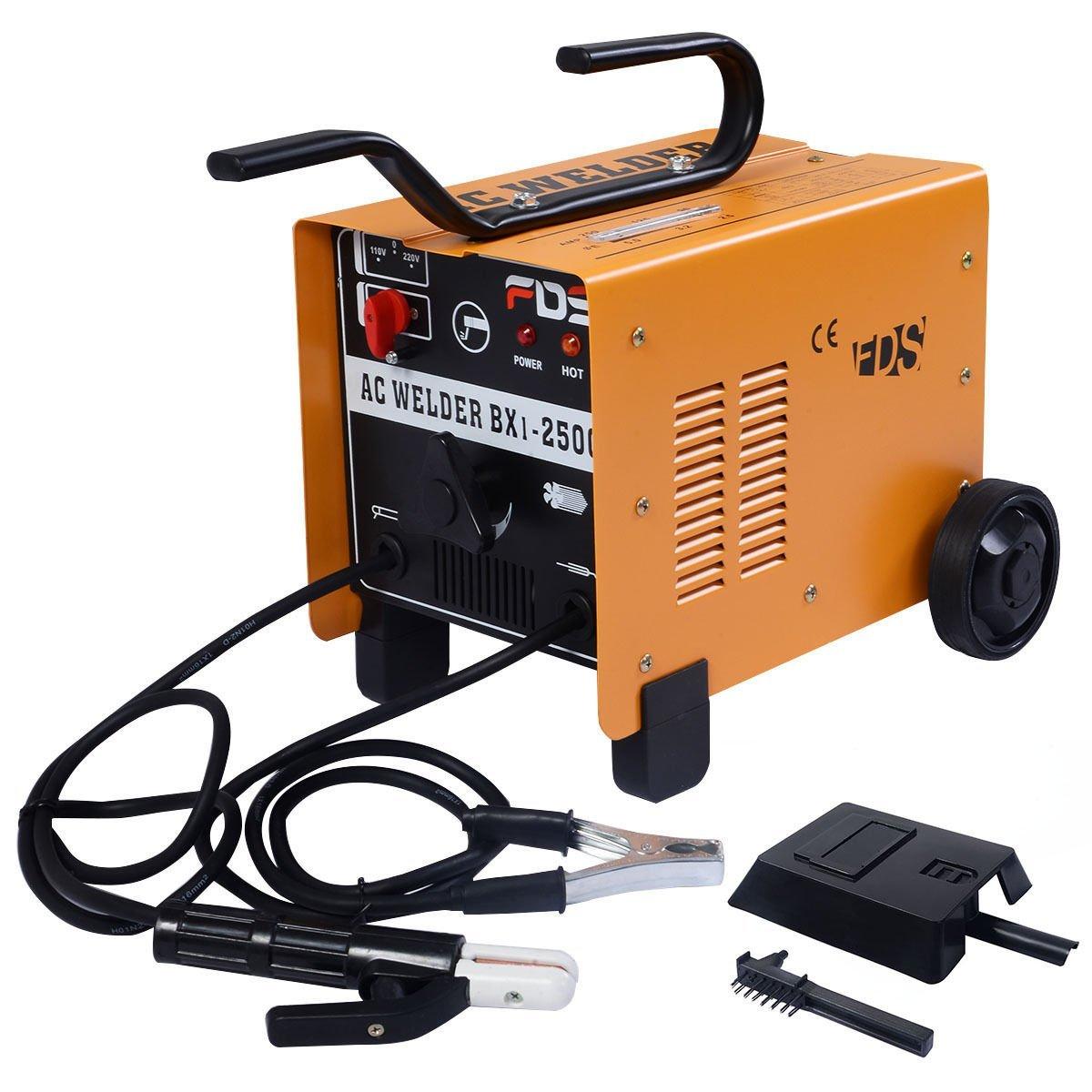 Goplus 110V/220V ARC 250 AMP Welder Welding Machine ...