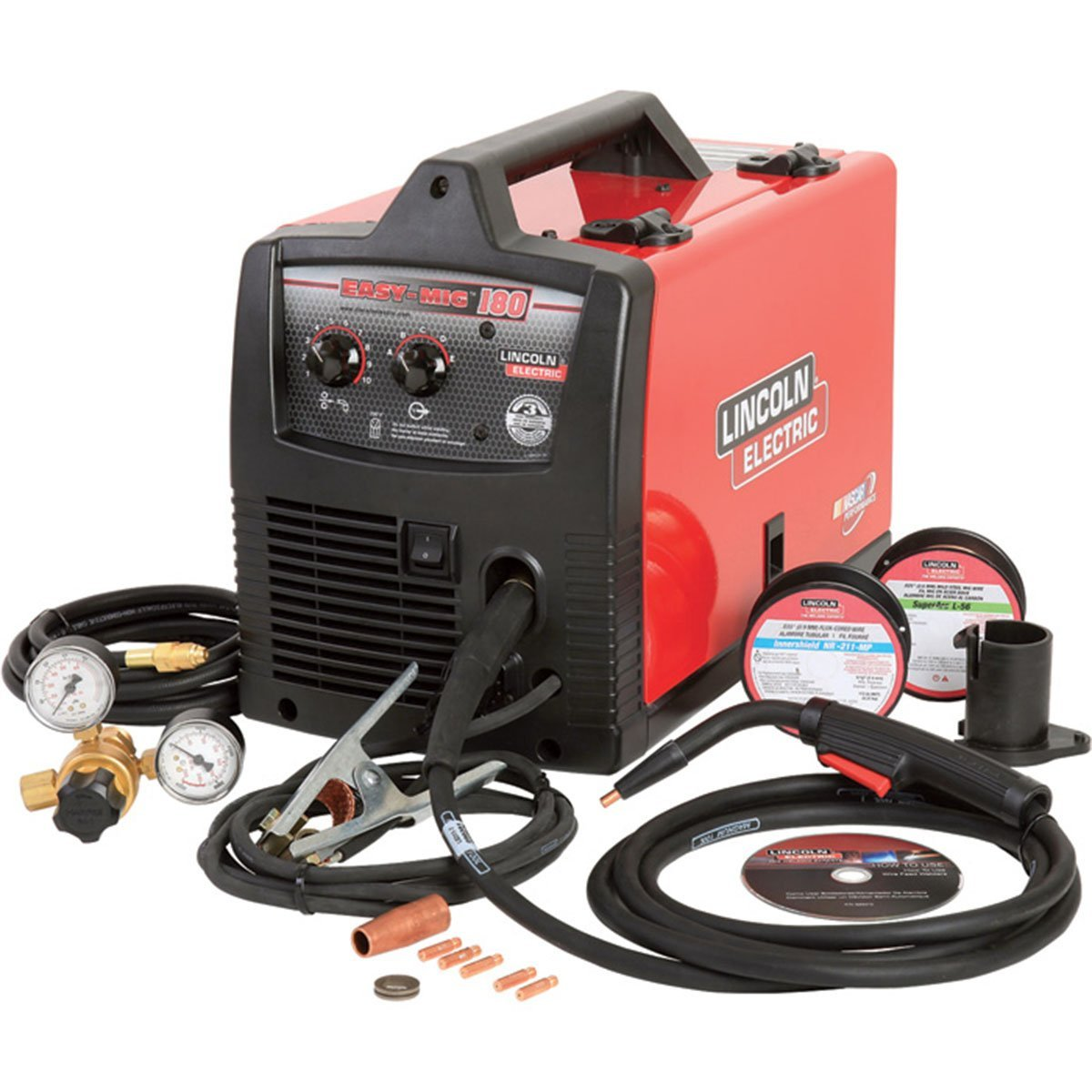 Lincoln Electric Easy MIG 180 Flux-Core/MIG Welder