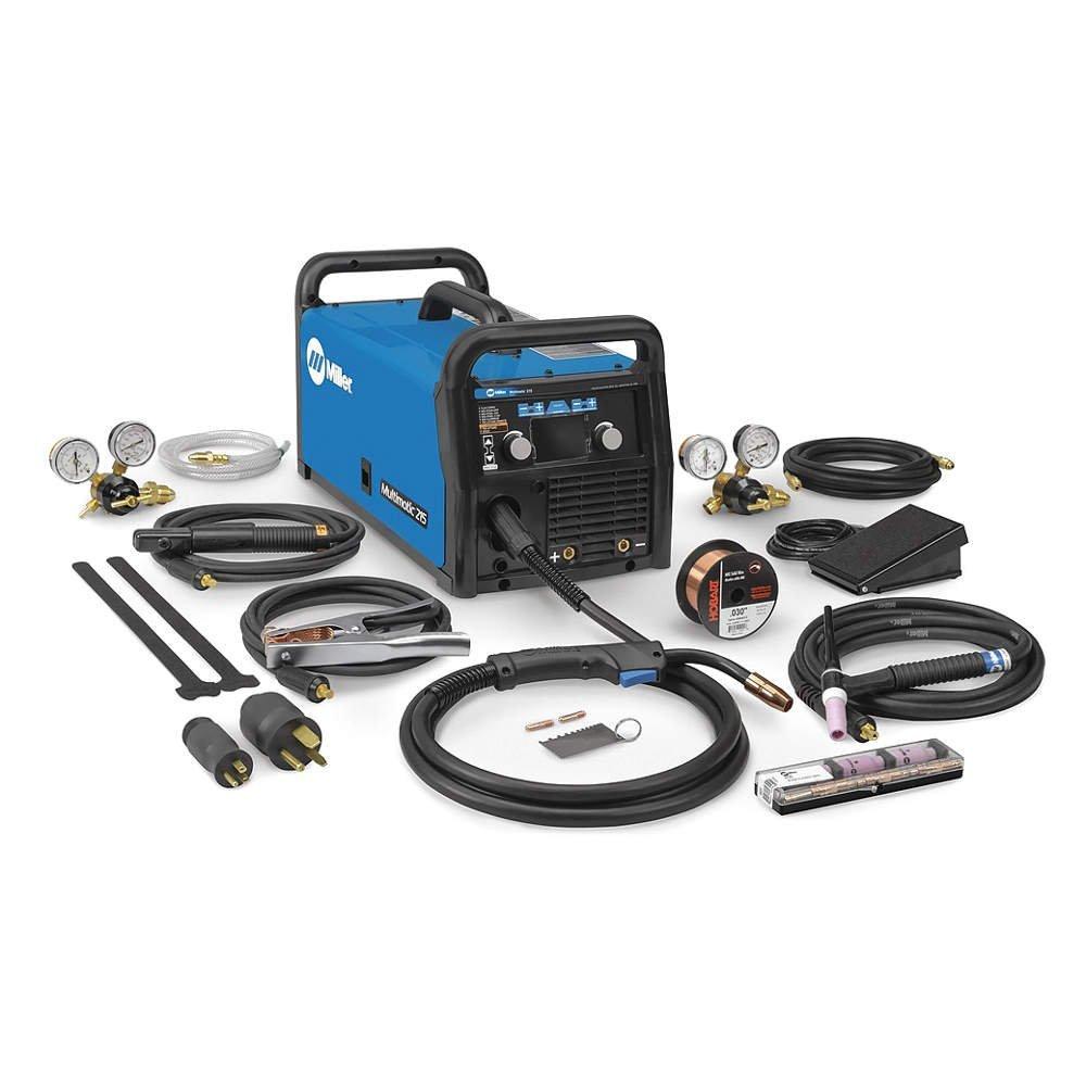 Miller 951674 Multimatic 215 Multiprocess Welder with TIG Kit