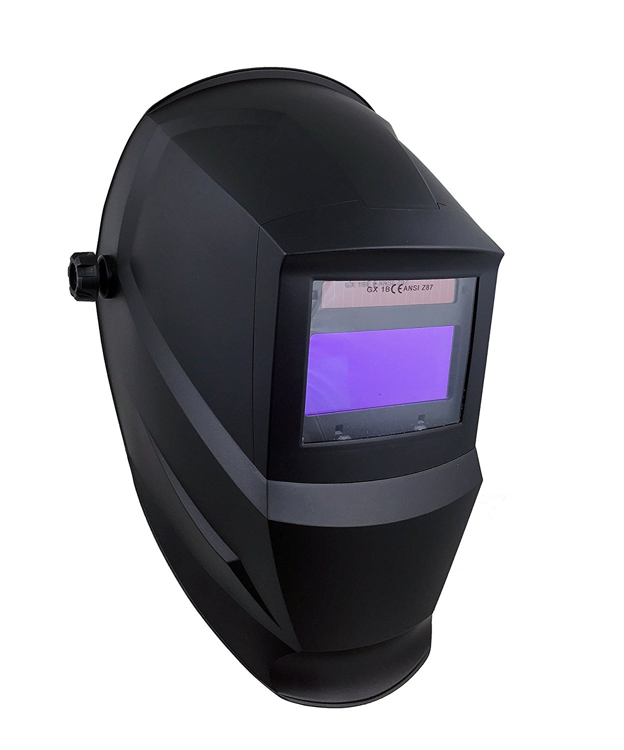 Instapark ADF Series GX600 Solar Powered Auto Darkening Welding Helmet with Adjustable Shade Range #5 - #13