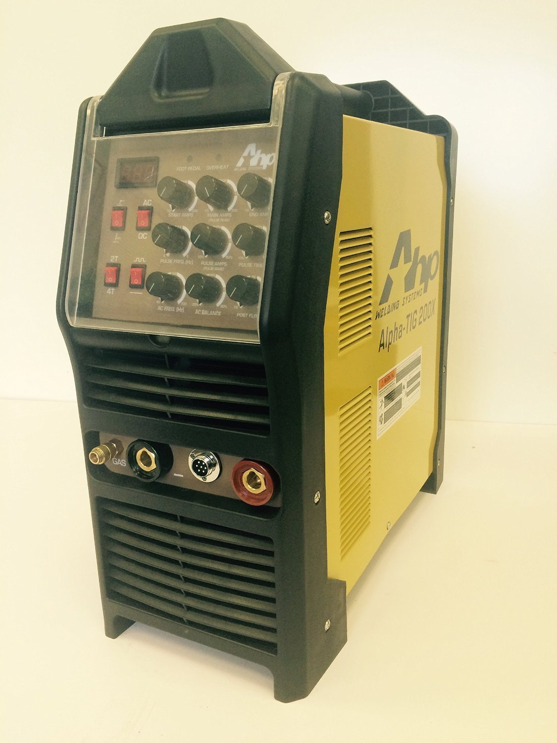 2017 AHP AlphaTIG 200X 200 Amp IGBT AC DC Tig/Stick Welder with PULSE 110v 220v 3 YEARS WARRANTY