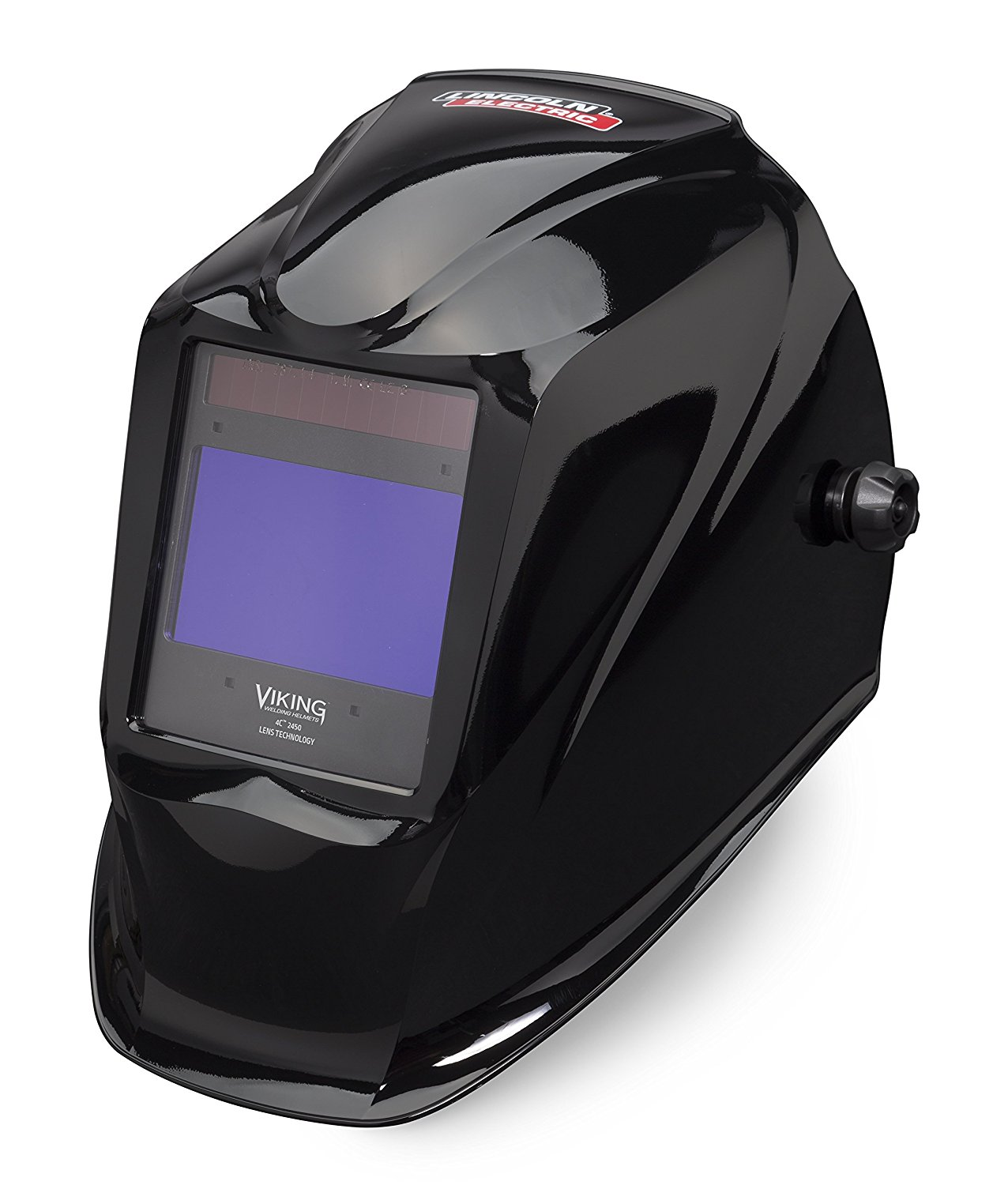 Lincoln Electric VIKING 2450 Black Welding Helmet with 4C Lens Technology - K3028-3