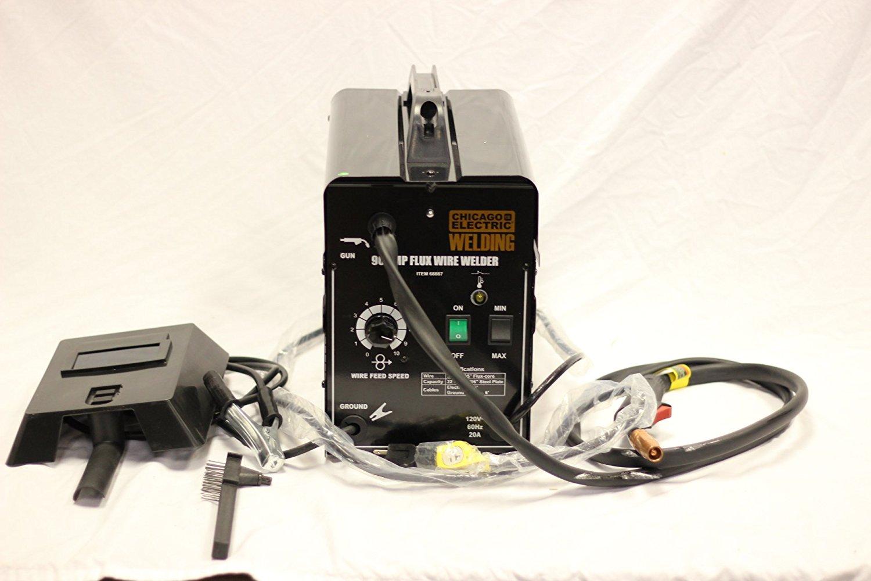 Chicago Electric Welder Review: 170 Amp MIG/Flux Wire Welder