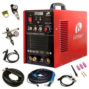 Welders and Plasma Cutters Reviews - Lotos CT520D Combo