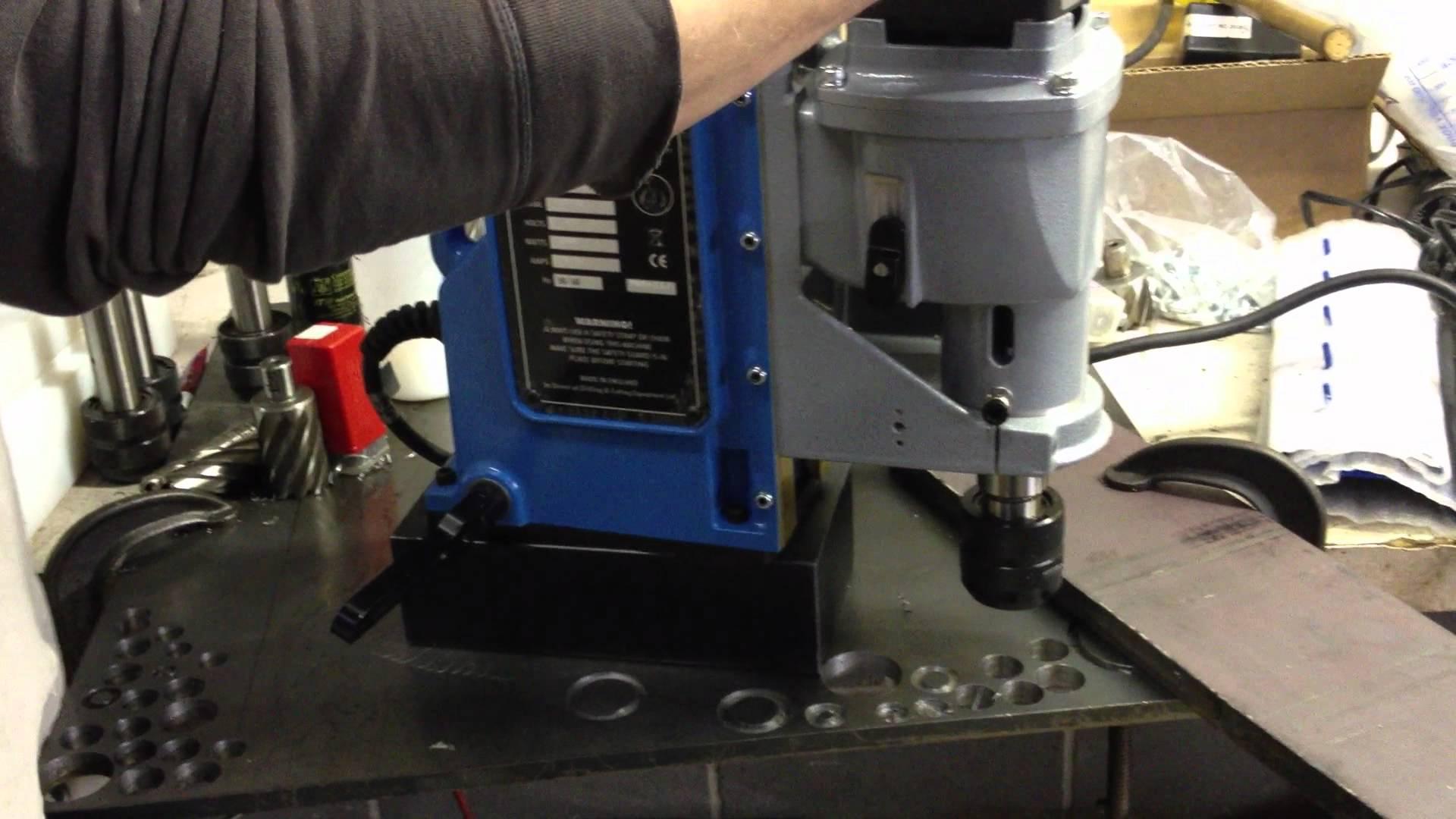 Unibor EQ100 drill press