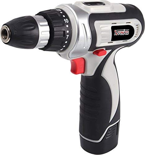 X-Power Tools-Lithium Cordless Drill with