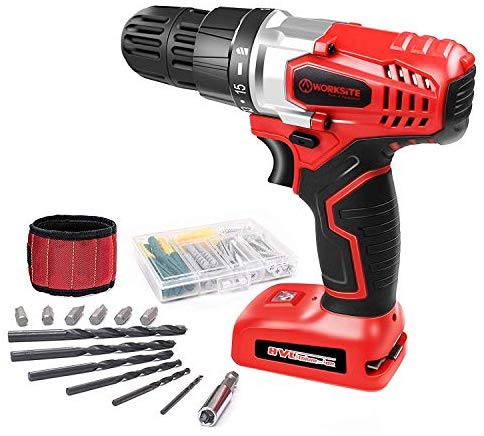 WORKSITE 8V Electric Cordless Drill