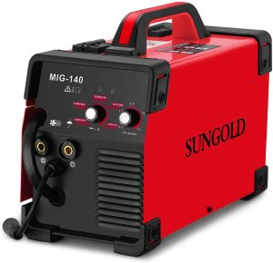 110v - 220v Sungoldpower MIG Welder with IGBT Technology