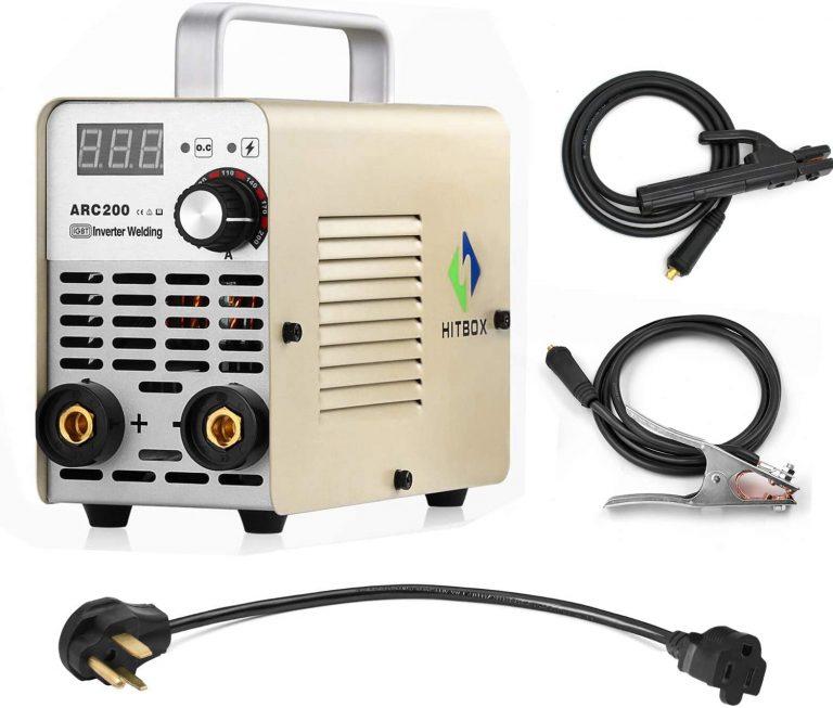 200A Hitbox MMA welder - dual voltage power supply