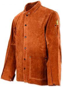 QeeLink Leather Welding Work Jacket