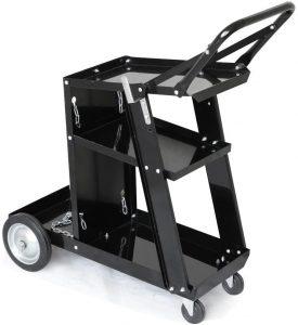 Yaheetech 3-Tier Welding Cart MIG TIG ARC Plasma Cutter Welder Welding Cart
