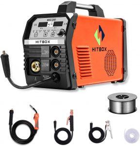 Flux-core & Solid Wire Hitbox 200A Welder