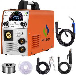 180A Hitbox welder, gas or gassless welding