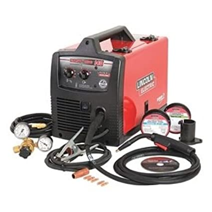 lincoln mig 140 wire feed flux core welder