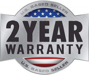 2 years warranty on Genesis drill press
