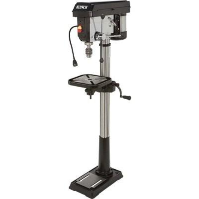Klutch 14in. Floor Mount Drill Press - 1 HP, 12-Speed
