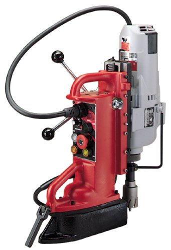 Milwaukee 4208-1 12.5 Amp Electromagnetic Drill Press with 1-1/4-Inch Motor and No. 3 Morse Taper