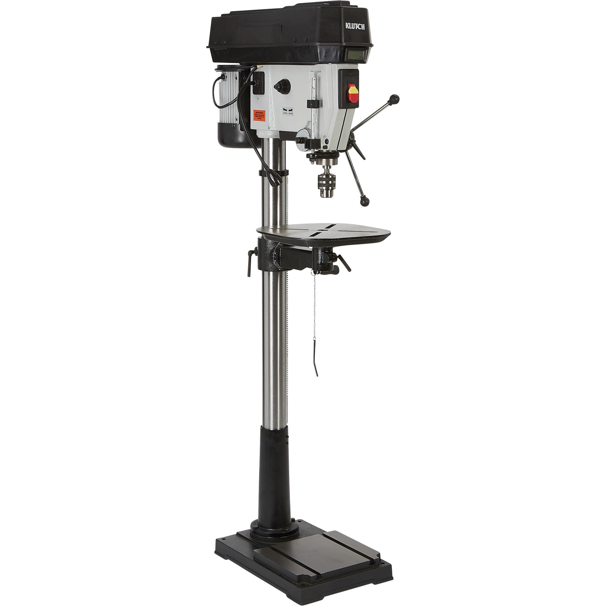 Klutch 14in. Floor drill press