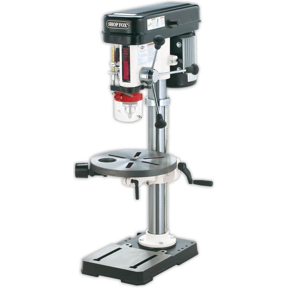 Shop Fox W1668 3/4-HP 13-Inch Bench-Top Drill
