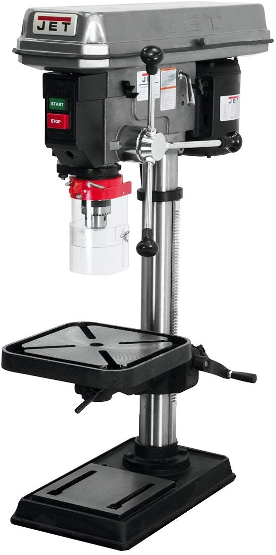 JET J-2530 15-Inch 3/4-Horspower 115-Volt Bench Model Drill Press