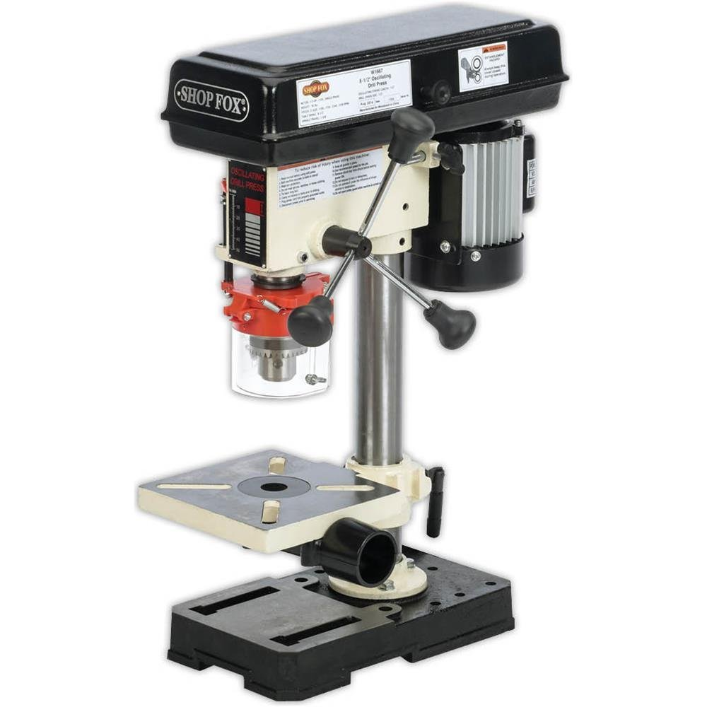 Shop Fox W1667 1/2 HP 8-1/2-Inch Bench-Top Oscillating