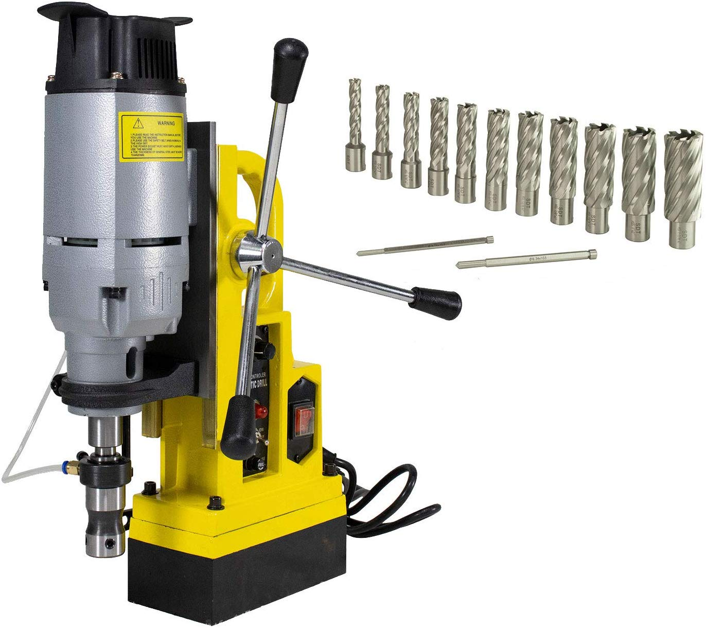 Steel Dragon Tools MD45 Magnetic Drill Press with 13PC 2