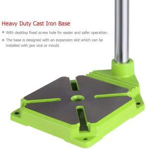heavy duty cast iron base