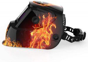 YESWELDER True Color Solar Powered Auto Darkening Welding Helmet