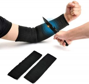 Arm Protection Sleeve, Cut Resitant 40cm Burn Resistant Anti Abrasion Safety Arm Guard